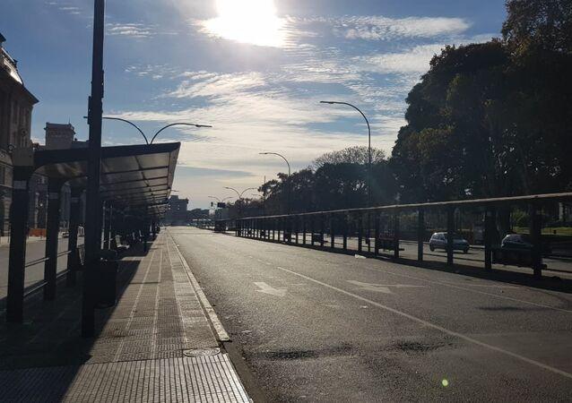 La ciudad de Buenos Aires, paralizada en una huelga convocada por la Confederación General del Trabajo y apoyada por la Central de Trabajadores de Argentina