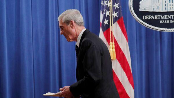 El fiscal especial estadounidense Robert Mueller - Sputnik Mundo