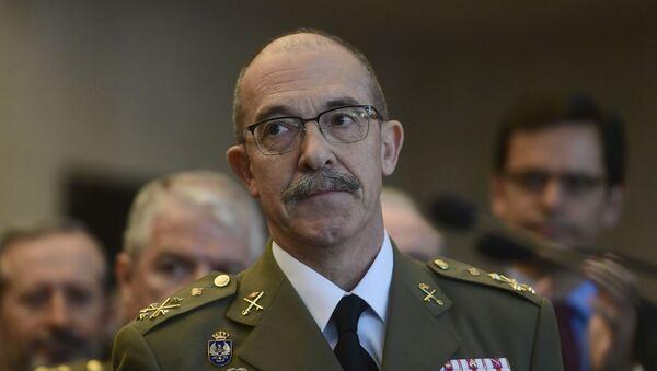 El jefe del Estado Mayor de la Defensa de España (Jemad), el general Fernando Alejandre. - Sputnik Mundo