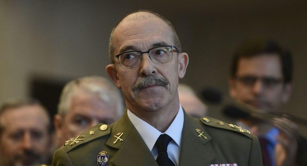 El jefe del Estado Mayor de la Defensa de España (Jemad), el general Fernando Alejandre