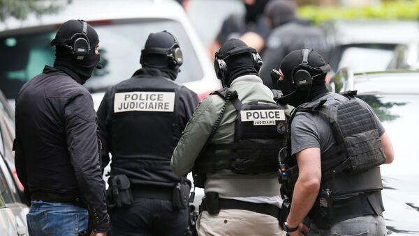 La Policía de Francia (archivo) - Sputnik Mundo