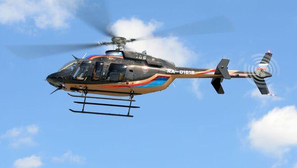Un helicóptero  - Sputnik Mundo