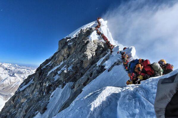 El Everest, presidentes y queso: estas son las imágenes de la semana - Sputnik Mundo