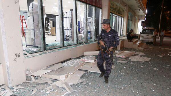Lugar de atentados en Kirkuk, Irak - Sputnik Mundo