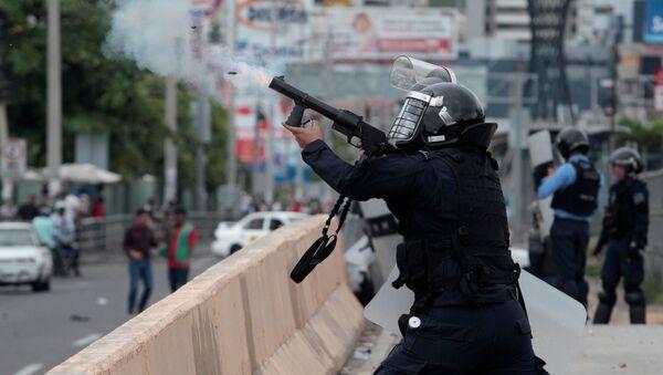 Policía de Honduras - Sputnik Mundo