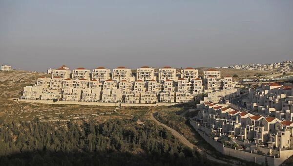 Construcción de viviendas para colonos judíos - Sputnik Mundo