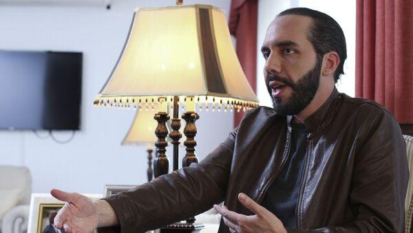 El presidente electo de El Salvador, Nayib Bukele - Sputnik Mundo