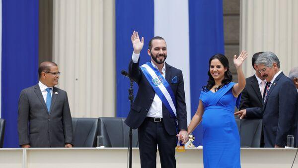 Nayib Bukele tras su investidura como presidente de El Salvador, 1 de junio de 2019 - Sputnik Mundo