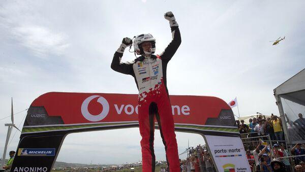 Ott Tanak, el piloto de Estonia ganador de la séptima etapa del Rally de Portugal - Sputnik Mundo
