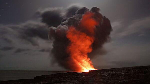 Un volcán, referencial - Sputnik Mundo