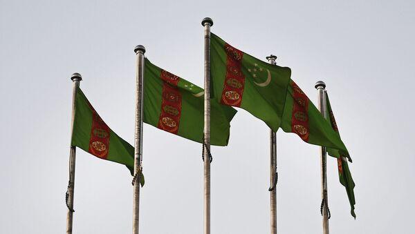 Bandera de Turkmenistán - Sputnik Mundo