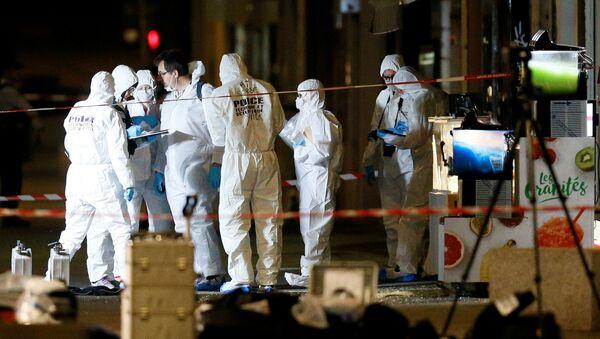 Lugar de la explosión en Lyon, Francia - Sputnik Mundo