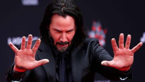 Keanu Reeves, actor estadounidense - Sputnik Mundo