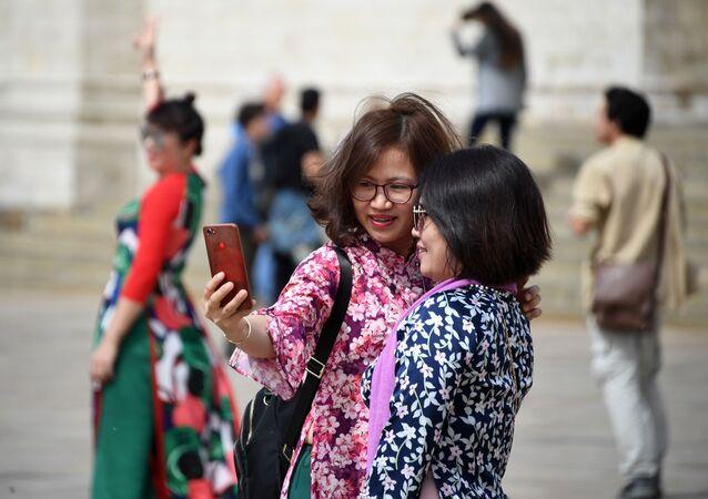 Turistas chinos en Rusia (imagen referencial)