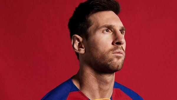 Lionel Messi, de FC Barcelona - Sputnik Mundo