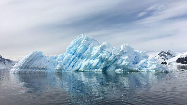 Glaciar (imagen referencial) - Sputnik Mundo