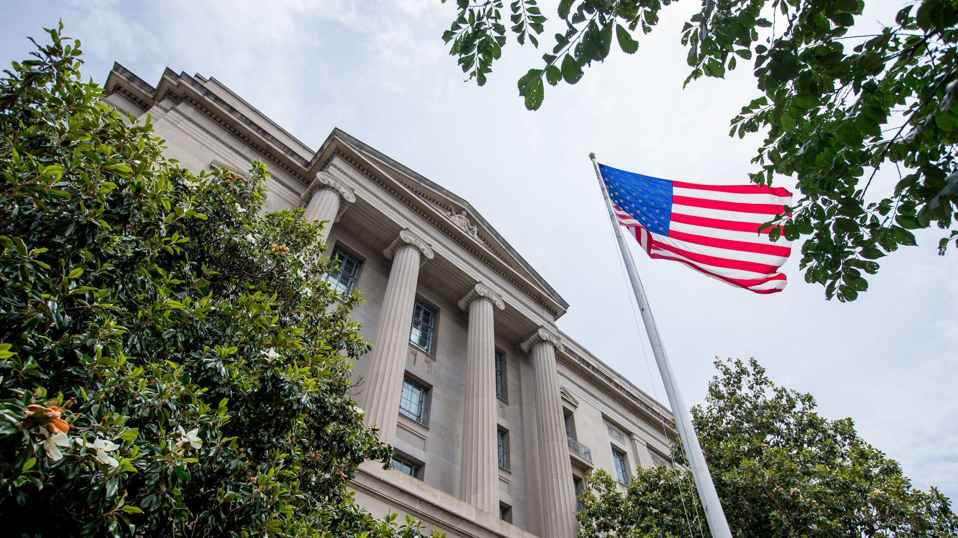 El edificio del Departamento de Justicia de EEUU - Sputnik Mundo, 1920, 07.05.2021