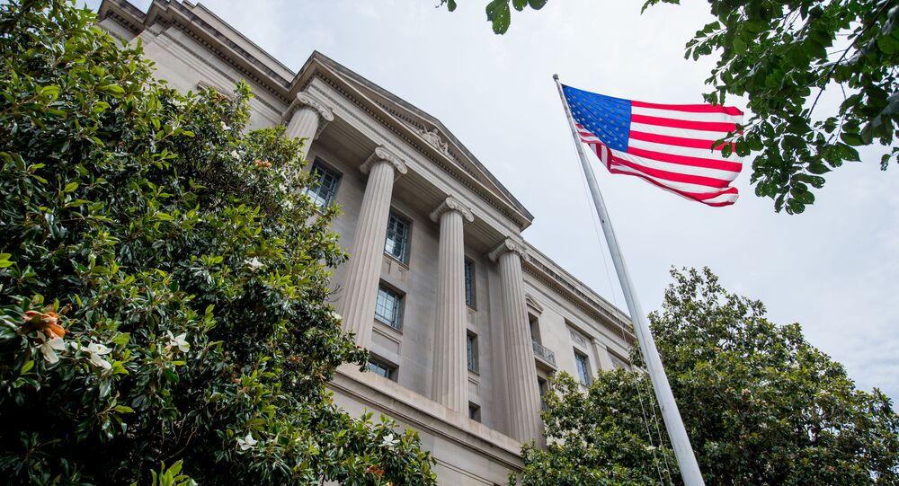 El edificio del Departamento de Justicia de EEUU