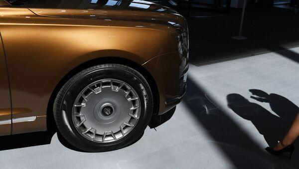 Automóvil Aurus Senat - Sputnik Mundo