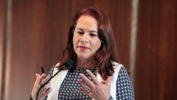 La excanciller ecuatoriana María Fernanda Espinosa - Sputnik Mundo
