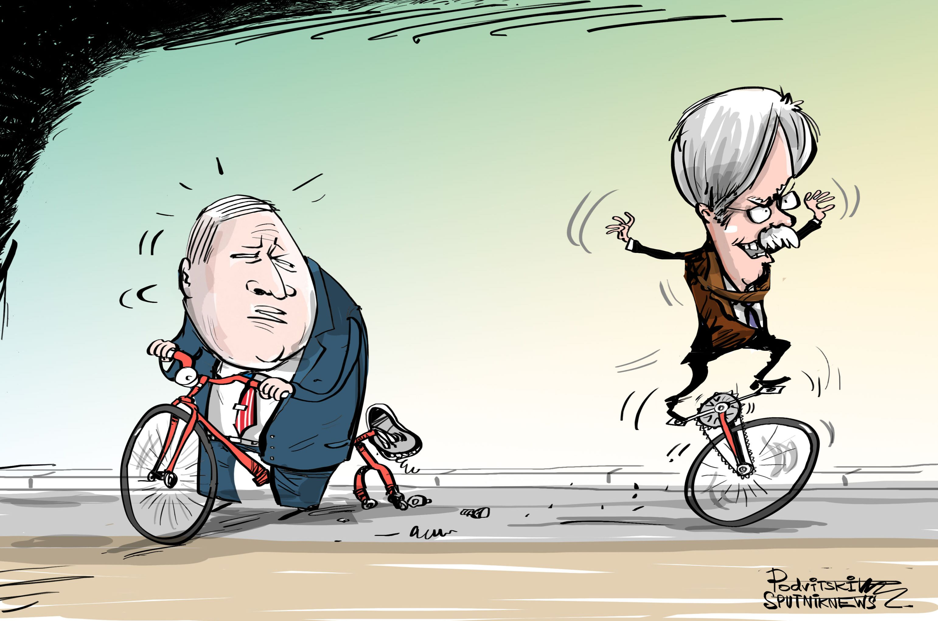 John Bolton, con su propia política exterior y sus órdenes