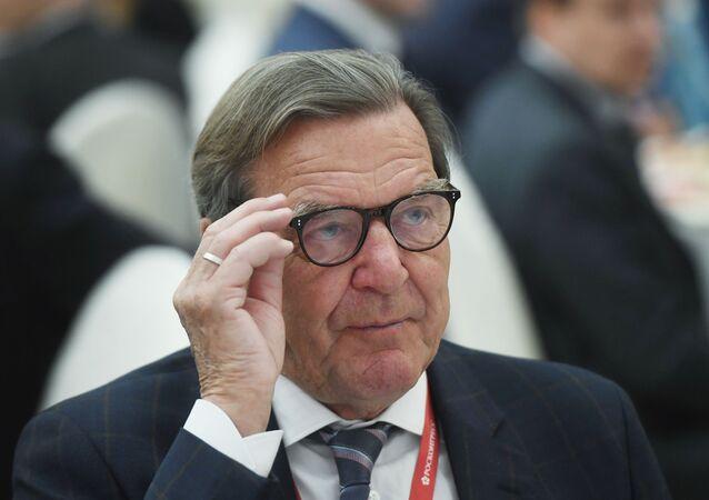 Gerhard Schröder, excanciller alemán