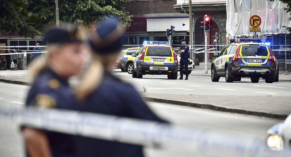 Policía sueca (archivo)