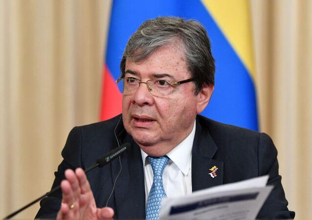 Carlos Holmes Trujillo, ministro de Defensa de Colombia (archivo)