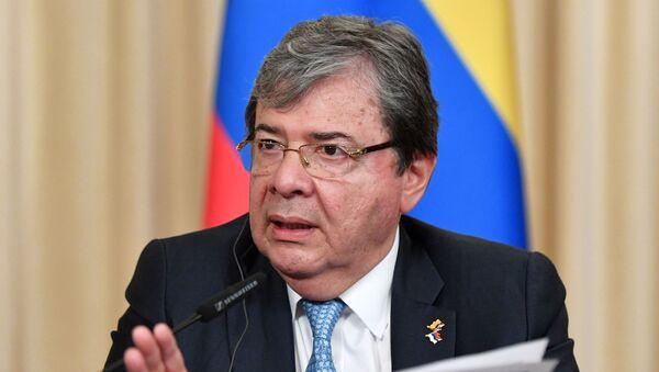 Carlos Holmes Trujillo, ministro de Defensa de Colombia (archivo) - Sputnik Mundo