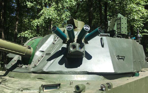 Sistema de protección del cañón autopropulsado ruso 2S42 Lotos - Sputnik Mundo