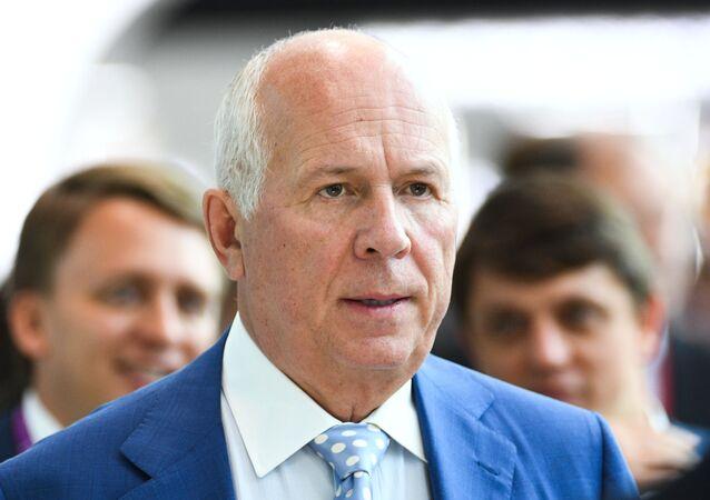 Serguéi Chémezov, director general de Rostec