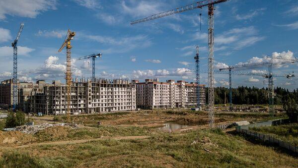 Construcción de viviendas (Archivo) - Sputnik Mundo