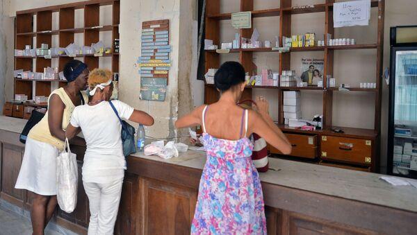 Una farmacia en Cuba - Sputnik Mundo