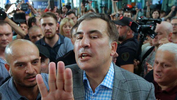 Mijaíl Saakashvili, expresidente de Georgia  - Sputnik Mundo