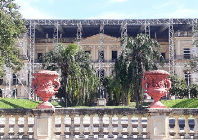 Museo Nacional de Brasil en Río de Janeiro (archivo)