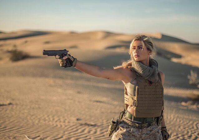 Shannon Ihrke, exintegrante del Cuerpo de Marines de EEUU