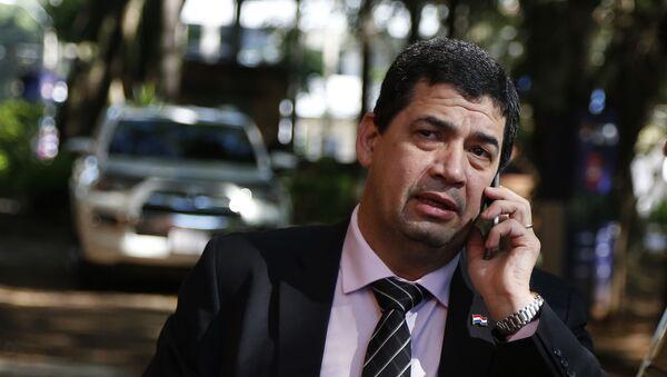 Hugo Velázquez, vicepresidente de Paraguay (archivo) - Sputnik Mundo