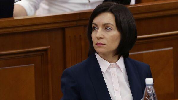 Maia Sandu, presidenta electa de Moldavia - Sputnik Mundo