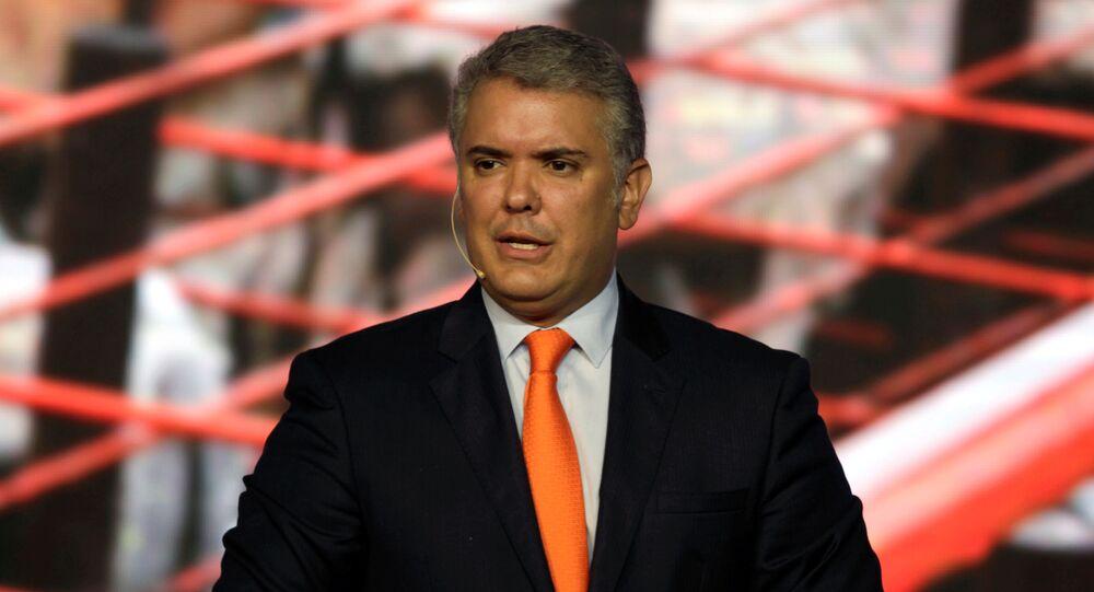 Iván Duque, el presidente de Colombia (archivo)