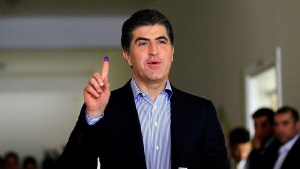 Nechirvan Barzani, el primer ministro de Kurdistán iraquí - Sputnik Mundo