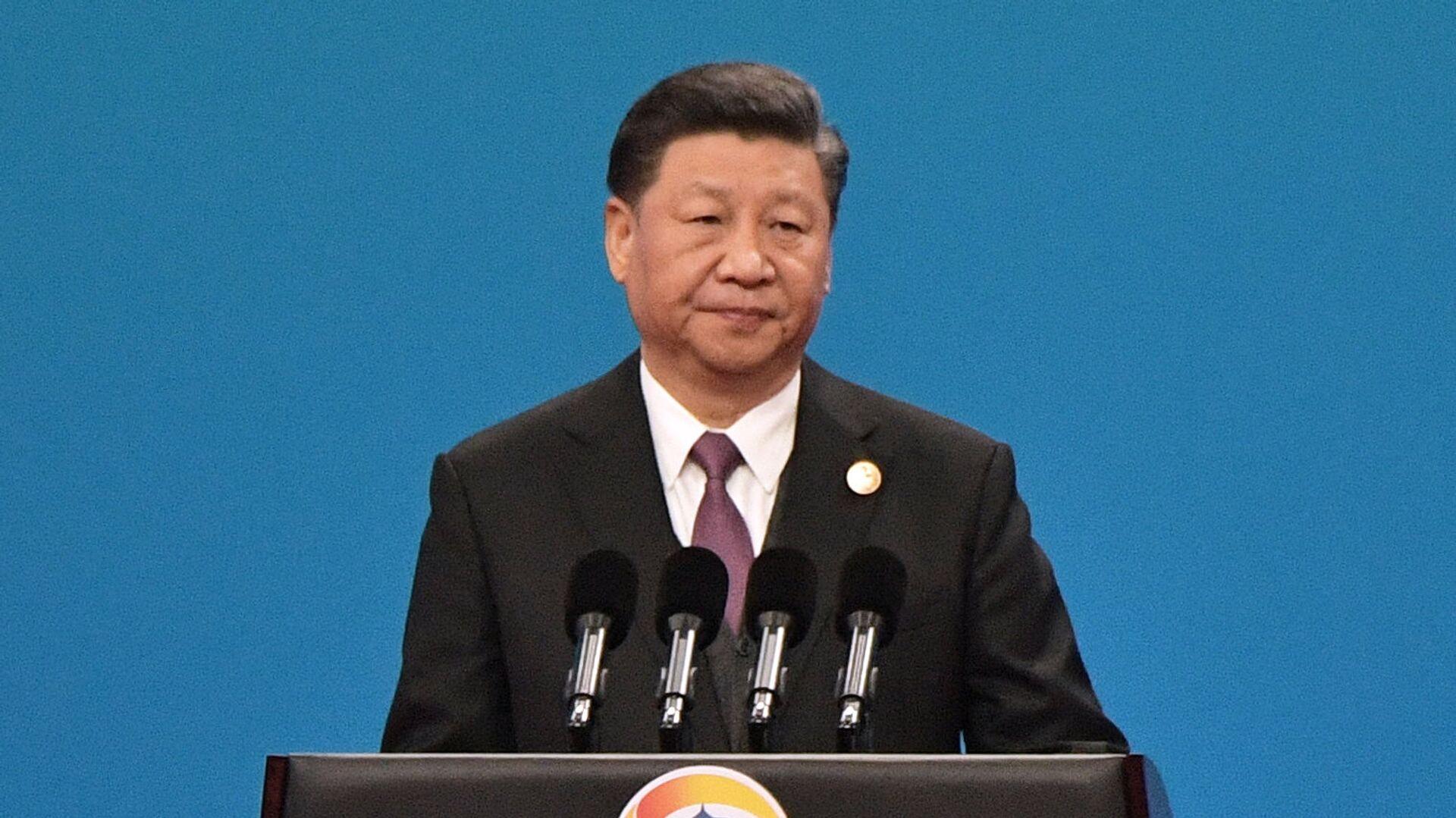 Xi Jinping en un foro sobre la Iniciativa de la Franja y la Ruta de la Seda - Sputnik Mundo, 1920, 02.09.2021