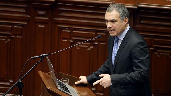 El primer ministro de Perú, Salvador del Solar - Sputnik Mundo