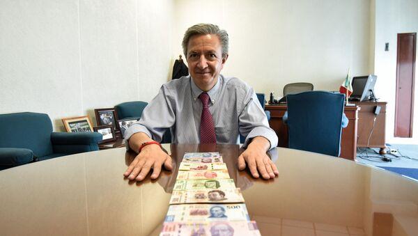 Alejandro Alegre Rabiela, el director general de Emisión del Banxico - Sputnik Mundo