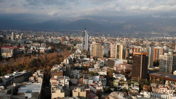 Santiago de Chile, la capital de Chile - Sputnik Mundo