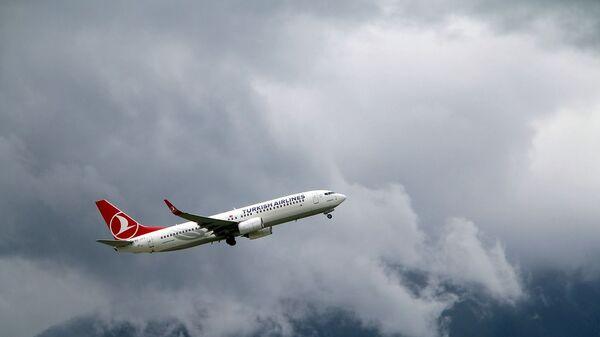 La aerolínea Turkish Airlines fue elegida 'Línea Aérea Líder de Europa' en los World Travel Awards 2019 - Sputnik Mundo