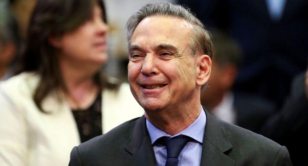 Miguel Ángel Pichetto, flamante precandidato a la vicepresidencia junto a Mauricio Macri en las elecciones de 2019