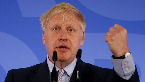 El exalcalde de Londres y ministro de Exteriores británico, Boris Johnson - Sputnik Mundo