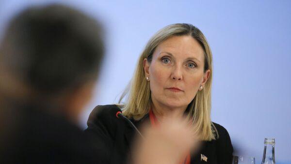 La subsecretaria de Estado de EEUU para Control de Armas y Seguridad Internacional, Andrea Thompson - Sputnik Mundo