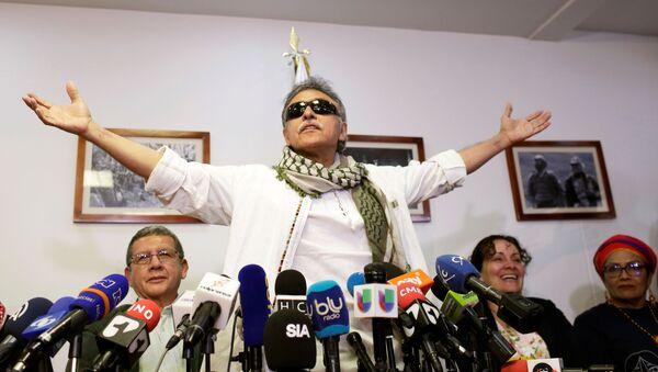 Jesús Santrich, exlíder de FARC - Sputnik Mundo