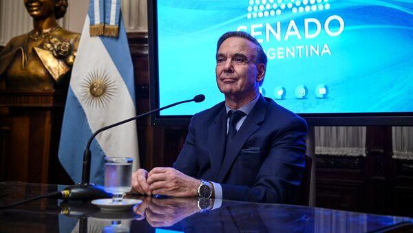 El candidato a la vicepresidencia de Argentina por el frente Juntos por el Cambio, Miguel Ángel Pichetto - Sputnik Mundo